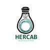 Logotipo de Hercab, empresa de instalaciones eléctricas