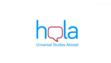 Logotipo de la agencia Hola USA de estudios en el extranjero