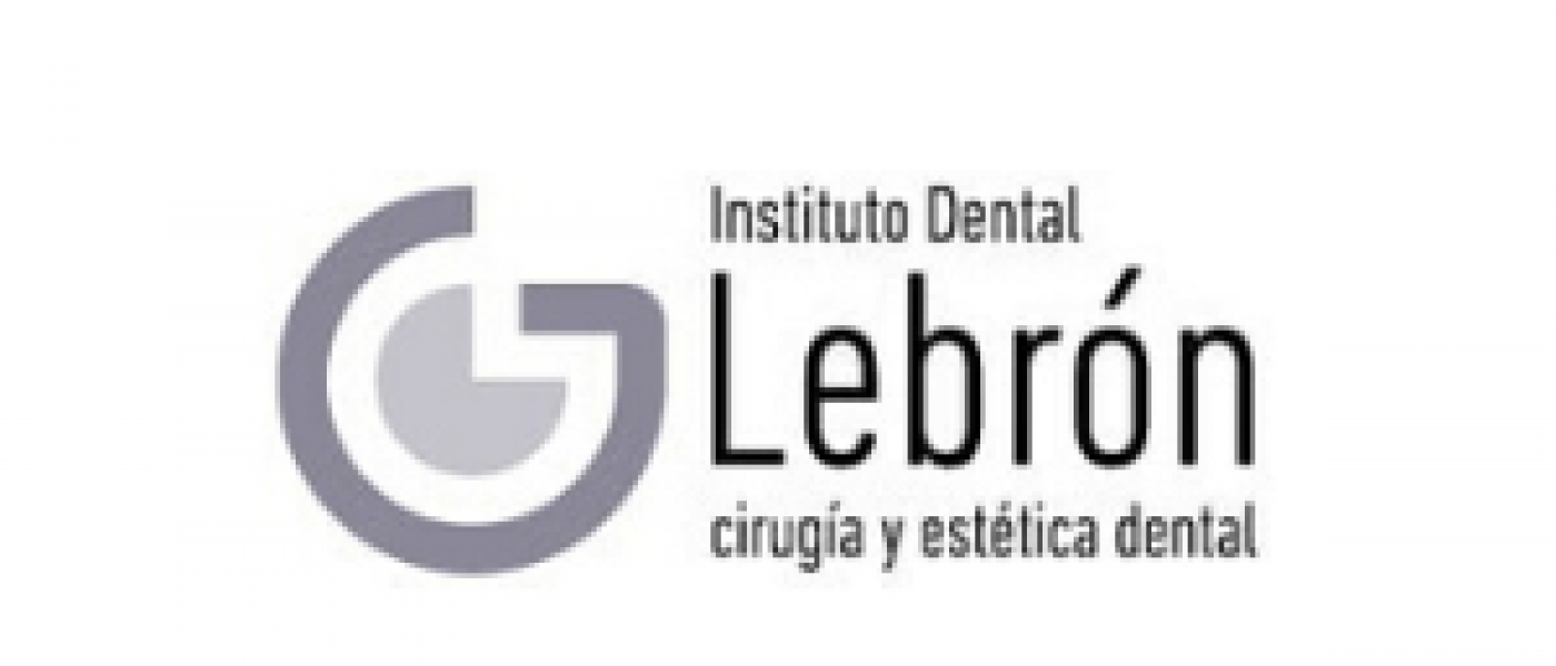 logotipo de instituto dental lebron